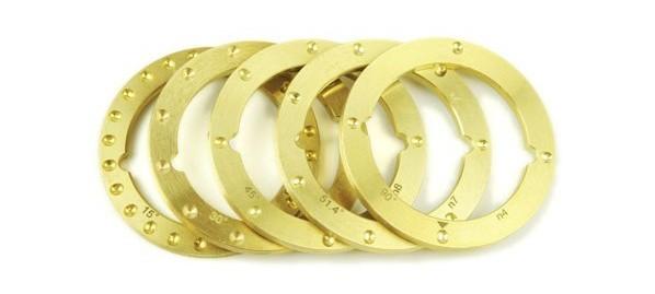 NN4/5 Reversible Brass Detent Rings