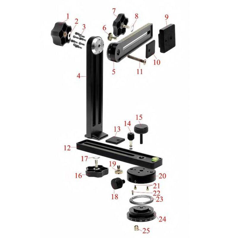 NN5-5L Upper Rotator Tightening Knob