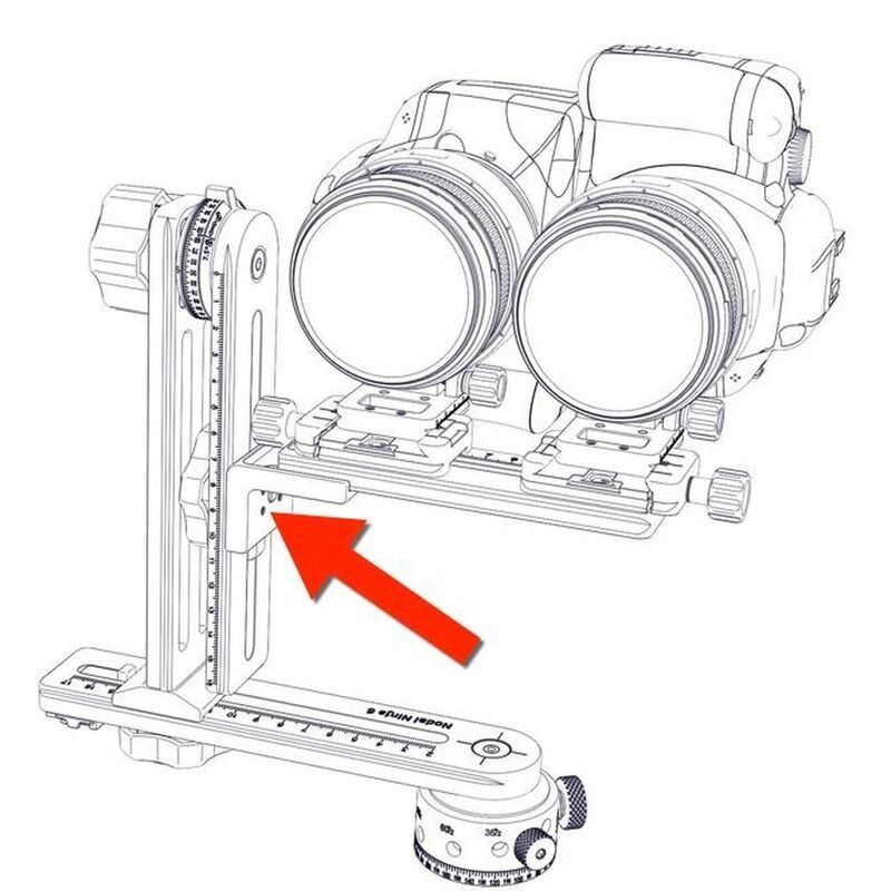 NN3 MK3 / NN6 Right Angle Connector for Lens Plate
