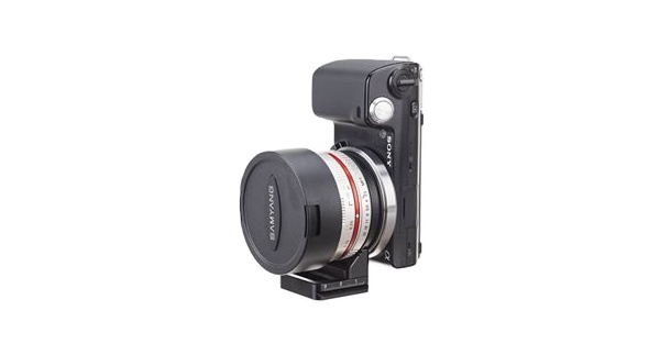 Conversion tool kit for Samyang 7.5mm Lens with Sony E-Mount