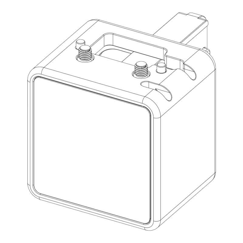 MECHA E2 Vertical Extender and Dual Battery Holder